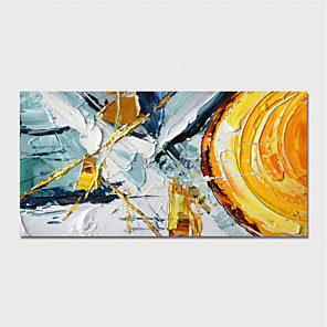 cheap Abstract Paintings-Hand Painted Rolled Canvas Oil Painting  Modern Abstract Home Decoration  Painting Only Rolled Without Frame
