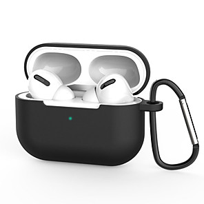 cheap On-ear & Over-ear Headphones-Silicon Case For Apple Airpods Pro Case Wireless Bluetooth Earphone Protective Case For Apple Air Pods Headphone Case