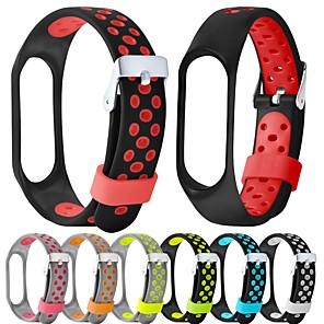 cheap Smartwatch Bands-Watch Band for Mi Band 3 / Xiaomi Mi Band 4 Xiaomi Modern Buckle Silicone Wrist Strap