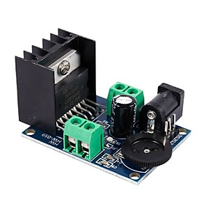 cheap Robots & Accessories-TDA7297 Power Amplifier Module 2 X 15W Audio Amplifier Module