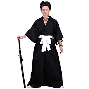 cheap Anime Costumes-Inspired by BLEACH Ichigo Kurosaki Anime Cosplay Costumes Japanese Cosplay Suits Pants For Men's Women's