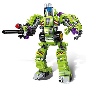 cheap RC Cars-Building Blocks Transformation Car Toy Puzzle Robot 1 pcs Robot compatible Plastic Shell Legoing Focus Toy Hand-made All Toy Gift