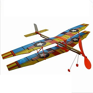 cheap Toy Cars-Toy Airplane Airplane Model Educational Toy Plane Airplane DIY Hand-made Parent-Child Interaction PORON Kids All Toy Gift 1 pcs