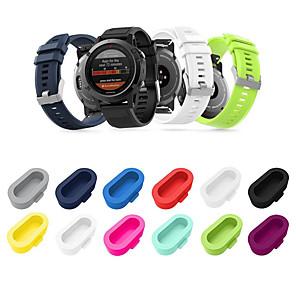 cheap Smartwatch Bands-10 Pack Silicone Dust Plug Compatible For Garmin Vivoactive 3 / Vivoactive 3 Music/Vivoactive 3 Trainer Garmin Fenix 5/5 Plus / 5S / 5S Plus / 5X / 5X Plus/Forerunner 935