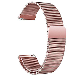 cheap Smartwatch Bands-Watch Band for Huawei Watch 2 / Huawei Watch 2 Pro / Huawei Watch GT2 42mm Huawei Milanese Loop Stainless Steel Wrist Strap