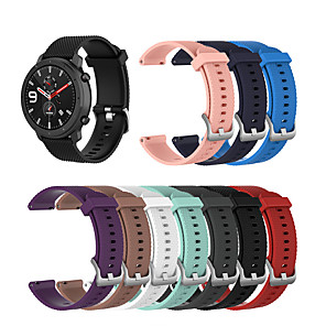 cheap Smartwatch Bands-Watch Band for Amazfit  GTR  42mm / Amazfit Bip / Amazfit Bip Lite Amazfit Sport Band Silicone Wrist Strap