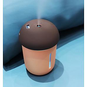 cheap LED Smart Home-Humidifier Mushroom Lamp Multi-function Diffuser Office Air USB Fan LED Night Light Humidifier Portable