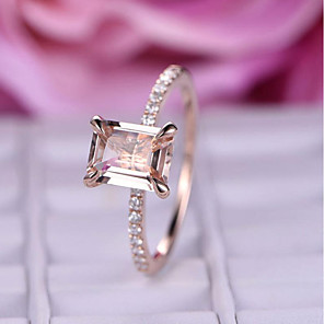 cheap Rings-Women's Ring AAA Cubic Zirconia 1pc Rose Gold Alloy Stylish Wedding Party Jewelry Cute / Gift / Daily / Engagement