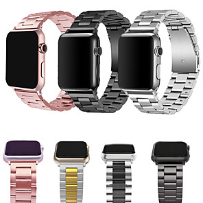 cheap Smartwatch Bands-Metal Band For Apple Watch Strap 38/40MM 42/44MM Bracelet Clasp Series 5 4 3 2 1 General