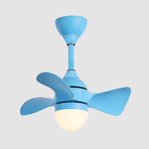 cheap Wall Sconces-55 cm Dimmable Ceiling Fan Aluminum Slim Painted Finishes Modern / Nordic Style 110-120V / 220-240V