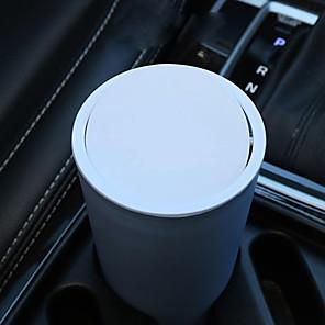 cheap Car Organizers-Cartoon cute car trash can car supplies car interior garbage bag car storage tube multifunction