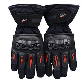 povoljno Motociklističke rukavice-vožnja motociklom s punim prstom vodootporne zaštitne rukavice od pamuka protiv pada i crna zaštita bez potrebe za polijetanjem (l / xl / xxl)