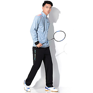 cheap Golf Clothing-Men's Tennis Badminton Table Tennis Pants / Trousers Track Jacket Clothing Suit Solid Color Breathable Quick Dry Soft Autumn / Fall Spring Winter Sports Outdoor / High Elasticity