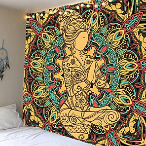 cheap Wall Tapestries-StandbeeldTapijt Muur OpknopingWandtapijten MuurPsychedelischeTapijt