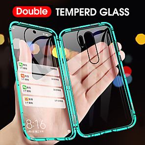 cheap Xiaomi Case-Magnetic Case For Redmi Note8Pro Mi10 Pro Case Mi CC9 Pro Mi 9T Pro Mi 9 SE Mi Note 10 Pro Mi CC9e Case Double Sided Tempered Glass Phone Case Full Body Anti-Explosion Protective Case for Xiaomi