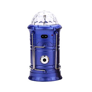 cheap LED Camping Lights-LED Lantern Light Rechargeable Outdoor Camping Flashlight Outdoor Lights Torch Stage Disco Lamp