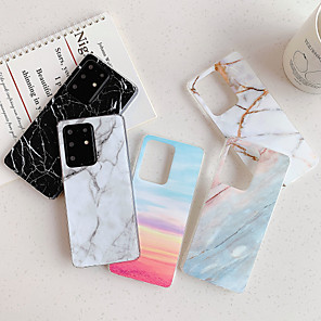 cheap Samsung Case-Case for Samsung scene graph Samsung Galaxy S20 S20 Plus S20 Ultra A51 A71 Classic marble pattern bright surface TPU material IMD process all-inclusive mobile phone case HJ3