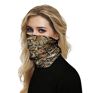 cheap Dog Clothes-Women's Bandana Balaclava Neck Gaiter Neck Tube UV Resistant Quick Dry Lightweight Materials Cycling Polyester for Men's Women's Adults / Pollution Protection / Floral Botanical Sunscreen / High Breat