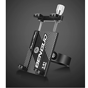 cheap Phone Mounts & Holders-Bike Mount Stand Holder Adjustable Stand Adjustable Metal Holder