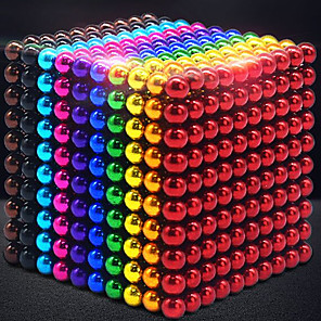 cheap Building Blocks-1000 pcs 3mm Magnet Toy Magnetic Balls Building Blocks Super Strong Rare-Earth Magnets Neodymium Magnet Neodymium Magnet Contemporary Classic & Timeless Chic & Modern Stress and Anxiety Relief Office