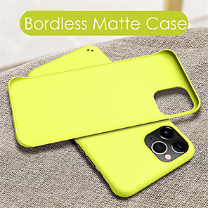 cheap iPhone Cases-Case For Apple iPhone 11 / iPhone 11 Pro / iPhone 11 Pro Max Frosted Back Cover Solid Colored PC