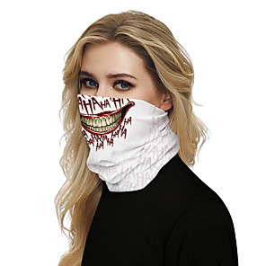 cheap Indoor Wall Lights-Women's Bandana Balaclava Neck Gaiter Neck Tube UV Resistant Quick Dry Lightweight Materials Cycling Polyester for Men's Women's Adults / Pollution Protection / Floral Botanical Sunscreen / High Breat