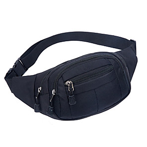 cheap Running Bags-Running Belt Fanny Pack Waist Bag / Waist pack 10 L for Camping / Hiking Climbing Leisure Sports Sports Bag Multifunctional Breathable Rain Waterproof Running Bag