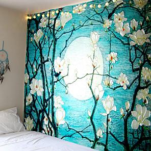 cheap Wallpaper-Mooie Natuurlijke Bos Gedrukt Grote Wandtapijten Goedkope Hippie Muur Opknoping Bohemian Wandtapijten Mandala Muur Art Decor