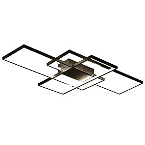cheap Dimmable Ceiling Lights-JSGYlights 3-Light 50 cm New Design Flush Mount Lights Aluminum Silica gel Geometrical Painted Finishes LED / Modern 110-120V / 220-240V