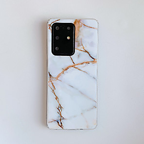 cheap Samsung Case-Case For Samsung Galaxy A31 A41 Note 20 A6 2018 A6 Plus 2018 A7 2018 A9 2018 Note 10 Note 10 Pro Note 10 Plus A10 M10 Pattern Back Cover Marble TPU