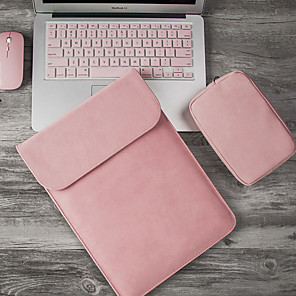 cheap Sleeves,Cases & Covers-Matte Laptop Case 14 inch Laptop Sleeve for Macbook Pro Hp Dell Asus 15 13 Case for Mac book Air 13 Laptophoes included 1 power bag