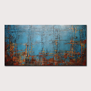 cheap Abstract Paintings-Mintura Hand Painted Abstract Oil Paintings on Canvas Modern Wall Picture Art Posters For Home Decoration Ready To Hang