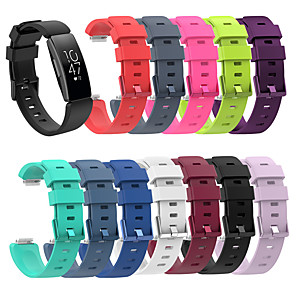 cheap Smartwatch Bands-For Fitbit Inspire / Inspire HR / Ace 2 Replacement Silicone Wristband Strap Watch Band