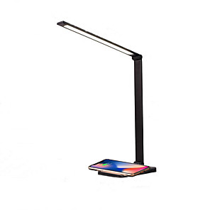 cheap Desk Lamps-Desk Lamp Rechargeable / Multi-shade / Smart Home Modern Contemporary DC Powered USB Powered For Study Room / Office Aluminum DC 5V Black