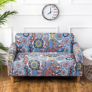 cheap Wall Stickers-Nordic Simple Style Printing Elastic Sofa Cover Stretchable Combination Sofa Cover
