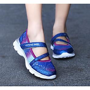 cheap Kids' Sandals-Girls' Sandals Comfort Mesh Big Kids(7years +) Blue / Pink Spring / Summer