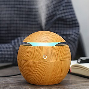 cheap Car Life Appliances-USB Aroma Humidifier ESSential Oil Diffuser Ultrasonic Cool Mist Humidifier Car Air Purifier Car Air Humidifier 7 Color Change LED Night light