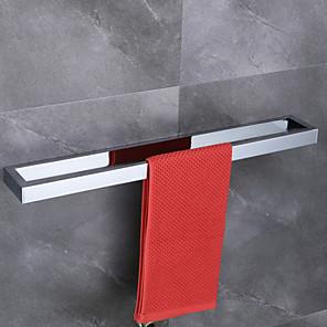 cheap Towel Bars-Towel Bar Design / Creative / Multifunction Contemporary / Modern Brass 1pc - Bathroom / Hotel bath 1-Towel Bar Wall Mounted
