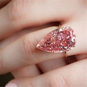 cheap Rings-Women's Ring 1pc Silver Platinum Plated Alloy Wedding Gift Jewelry Cute / Daily / Engagement