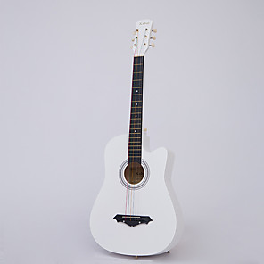 cheap Microphones & Accessories-Guitar Electric Electric Wooden Box Wooden Electric Guitars 38 Inch Primary Professional Musical Instrument for Beginners and Youths Students