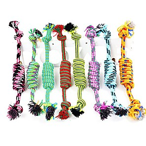 cheap Dog Training & Behavior-Chew Toy Interactive Dog Toy Pet Toy Rope Textile Gift