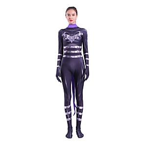 cheap Anime Costumes-Zentai Suits Cosplay Cosplay Kid's Adults Lycra Spandex Cosplay Costumes Halloween Women's Printing Halloween Carnival Masquerade / High Elasticity