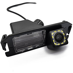 cheap Car Rear View Camera-ZIQIAO 480 TV-Lines 720 x 480 CCD Wired 170 Degree Rear View Camera Waterproof / Plug and play for Car
