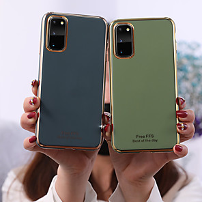 cheap Samsung Case-Case For Samsung Galaxy S20 Plus / S20 Pattern Back Cover Tile TPU