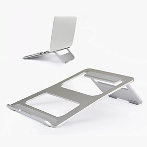 cheap Stands & Cooling Pads-aluminum alloy foldable laptop bracket cooling base portable notebook stand holder