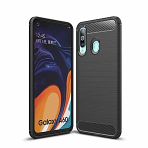 cheap Samsung Case-Naxtop Carbon Fiber Brushed Soft Bumper Back Cover Full Protective Phone Case For Samsung Galaxy A10 A20 A30 A40 A50 A60 A70 A20e A40s A6s A8s A2 Core