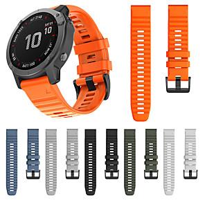 cheap Smartwatch Bands-Watch Band for Garmin Fenix 6 / Fenix 5 Plus / Fenix 5 Garmin Sport Band / Classic Buckle / Modern Buckle Silicone Wrist Strap for Garmin Fenix 6