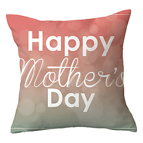 cheap Sale-Creative mother's day pillowcase sofa gift without core