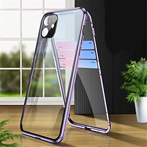 cheap Synthetic Trendy Wigs-Magnetic Adsorption Tempered Glass Double Sided Case For Iphone 11 /11Pro  Coque 360 Protective Cases for Iphone 11 Pro Max