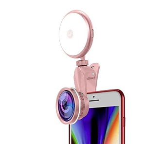 cheap Ring light-BRELONG® Round Selfie Ring Light LED Smart Light Dimmable / with USB Cable / Selfie Light Button Battery Powered 2 sets / 1 set